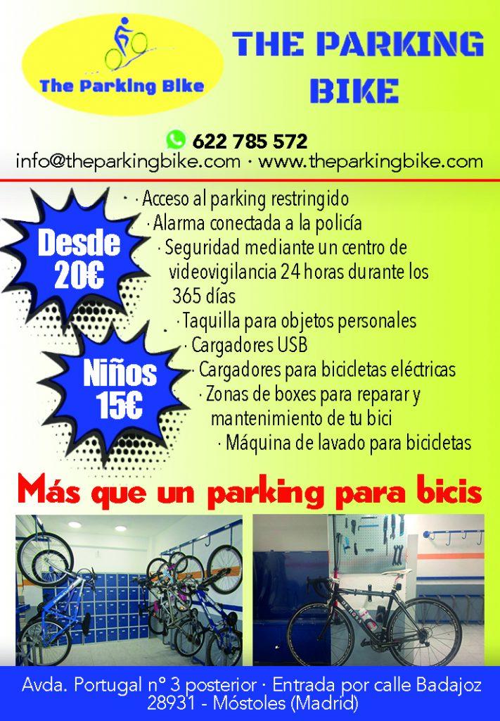 Más que un parking para bicis